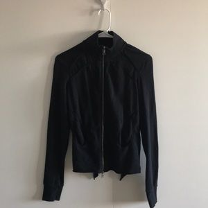 Armani Exchange Black Sports Jacket